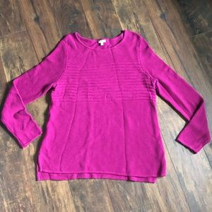 100% Cotton Talbots Sweater XL